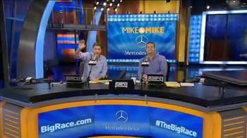 Mercedes-Benz Super Bowl 2015 Teaser TV Spot, 'Mike & Mike Debate Big Race' - Thumbnail 1