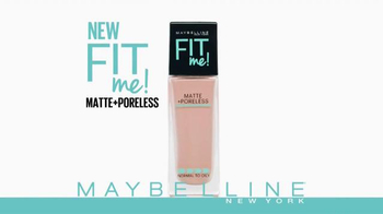 Maybelline Fit Me! Matte + Poreless Foundation TV Spot, 'Make Fit Happen' - Thumbnail 2