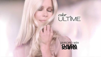 Schwarzkopf Color Ultime TV Spot, 'Ultimate Results' Feat. Claudia Schiffer - Thumbnail 4