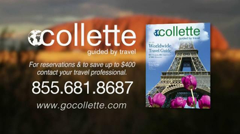 Collette Vacations TV Spot, 'Marvel at the Sites' - Thumbnail 10