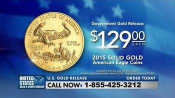 The United States Mint 2015 American Eagle Coins TV Spot, 'Solid Gold' - Thumbnail 10