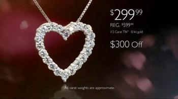 Helzberg Diamonds TV Spot, 'The Perfect Valentine's Day Gift' - Thumbnail 7