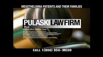 Pulaski & Middleman TV Spot, 'Mesothelioma Patients and Their Families' - Thumbnail 1