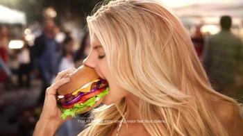 Carl's Jr. All-Natural Burger Super Bowl 2015 TV Spot, 'Au Naturel' - Thumbnail 5