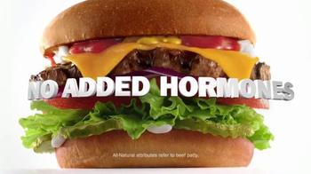 Carl's Jr. All-Natural Burger Super Bowl 2015 TV Spot, 'Au Naturel' - Thumbnail 7