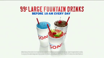 Sonic Drive-In Signature Drinks TV Spot, 'Sommelier' - Thumbnail 9