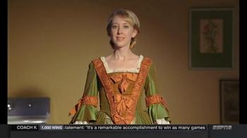 Clorox Splash-Less Bleach TV Spot, 'Martha Washington's Inaugural Gown' - Thumbnail 1