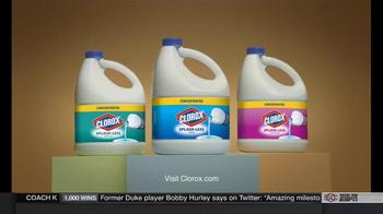 Clorox Splash-Less Bleach TV Spot, 'Martha Washington's Inaugural Gown' - Thumbnail 9