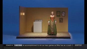 Clorox Splash-Less Bleach TV Spot, 'Martha Washington's Inaugural Gown' - Thumbnail 2