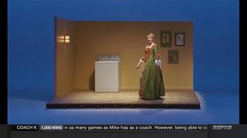 Clorox Splash-Less Bleach TV Spot, 'Martha Washington's Inaugural Gown' - Thumbnail 3