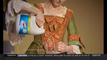 Clorox Splash-Less Bleach TV Spot, 'Martha Washington's Inaugural Gown' - Thumbnail 4
