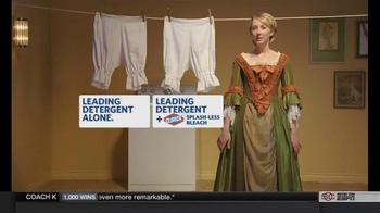 Clorox Splash-Less Bleach TV Spot, 'Martha Washington's Inaugural Gown' - Thumbnail 8