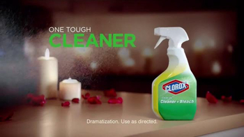 Clorox Clean Up Cleaner + Bleach TV Spot, 'Anniversary Surprise' - Thumbnail 9