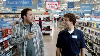 Walmart Layaway TV Spot, 'LED TV'
