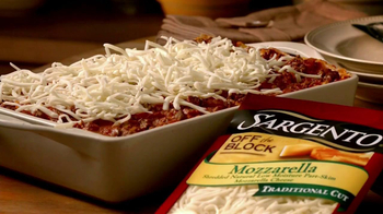 Sargento Off-the-Block Cheese Shreds TV Spot - Thumbnail 1