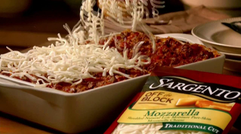 Sargento Off-the-Block Cheese Shreds TV Spot - Thumbnail 2