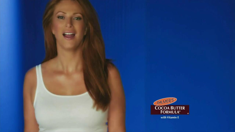 Palmer's  Cocoa Butter Formula TV Commercial Featuring Angie Everhart