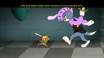 Tom and Jerry: Robin Hood and His Merry Mouse Home Entertainment TV Spot