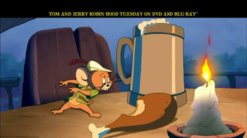 Tom and Jerry: Robin Hood and His Merry Mouse Home Entertainment TV Spot - Thumbnail 7