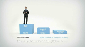 Charles Schwab TV Spot, 'Low-Cost Investing' - 205 commercial airings