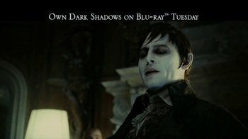 Dark Shadows Blu-ray, DVD Combo Pack TV Spot - 60 commercial airings