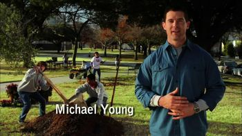 Volunteers of America TV Spot 'Action Team' feat. Michael Young