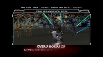 The Clone Wars Season 4 on Blu-Ray and DVD TV Spot - Thumbnail 6