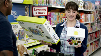 Walmart TV Spot 'Layaway Toys'