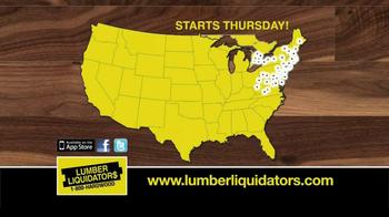 Lumber Liquidators TV Spot, 'Hardwood Flooring Sale' - Thumbnail 7