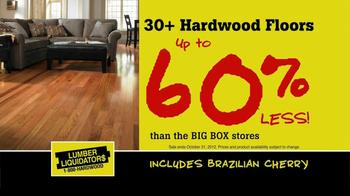 Lumber Liquidators TV Spot, 'Hardwood Flooring Sale' - Thumbnail 4