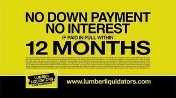 Lumber Liquidators TV Spot, 'Hardwood Flooring Sale' - Thumbnail 6