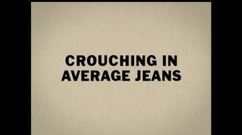 Duluth Ballroom Jeans TV Spot, 'Crouching in Average Jeans' - Thumbnail 1
