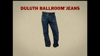 Duluth Ballroom Jeans TV Spot, 'Crouching in Average Jeans' - Thumbnail 7