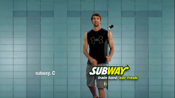 Subway Turkey Breast Sub TV Spot Featuring Michael Phelps - 4 commercial airings