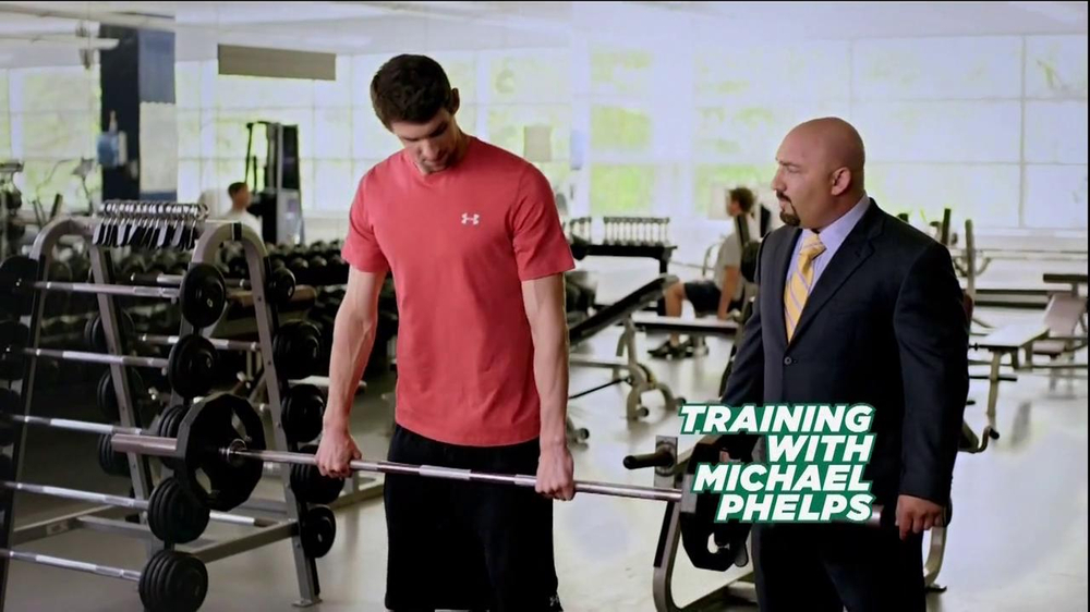 Subway Breakfast TV Commercial 'Weightlifting' Featuring Michael Phelps