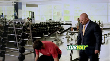 Subway Breakfast TV Spot 'Weightlifting' Featuring Michael Phelps - Thumbnail 1