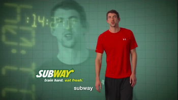 Subway Breakfast TV Spot 'Weightlifting' Featuring Michael Phelps - Thumbnail 9