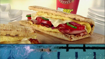 Subway Breakfast TV Spot 'Weightlifting' Featuring Michael Phelps - Thumbnail 8