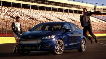 2013 Ford Fusion TV Spot, 'Win My Fusion' Featuring Trevor Bayne - 2 commercial airings