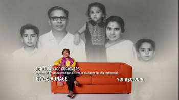 Vonage TV Spot, 'Calls to India'
