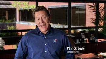 Domino's Pizza TV Spot, 'Frozen Dough' - Thumbnail 1