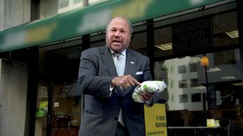 Arby's Grand Turkey Club TV Spot, 'Retired New York Detective' - 1340 commercial airings