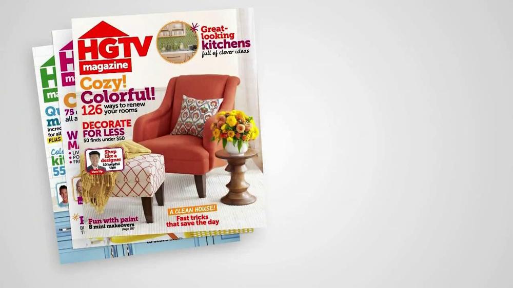 HGTV Magazine TV Commercial, 'New Issue' - Video