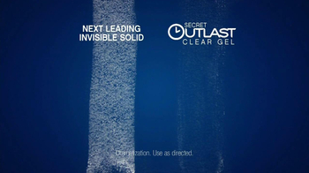 Secret Outlast Clear Gel TV Spot Featuring Jenni Pulos - Thumbnail 9