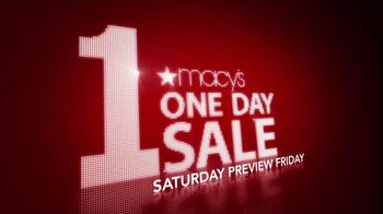 Macy's 1-Day Sale TV Spot, 'October 20' - Thumbnail 2