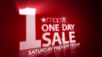 Macy's 1-Day Sale TV Spot, 'October 20' - Thumbnail 5