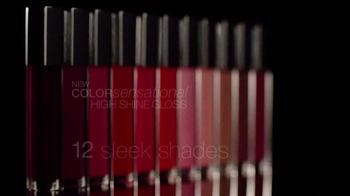 Maybelline High-Shine Gloss TV Spot - Thumbnail 10