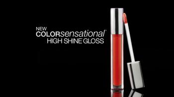 Maybelline High-Shine Gloss TV Spot - Thumbnail 4