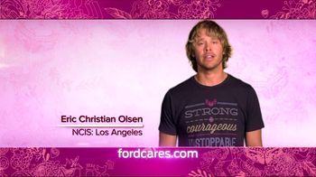 Ford Warriors in Pink TV Spot Featuring Eric Christian Olsen