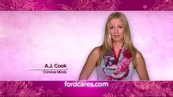 Ford Warriors in Pink TV Spot Featuring A.J. Cook